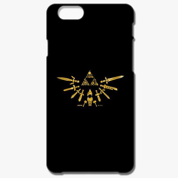 Zelda legend Link Shield doodle 2 iphone case