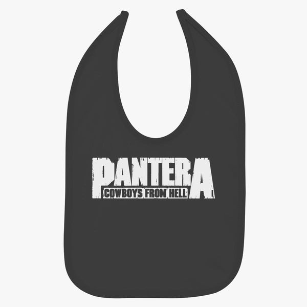 PANTERA Cowboys From Hell Baby Bib   Kidozi com