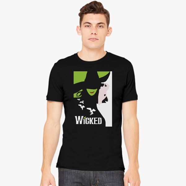 New WICKED Broadway Show Musical Wizard of OZ Men/'s White T-Shirt Size S to 3XL