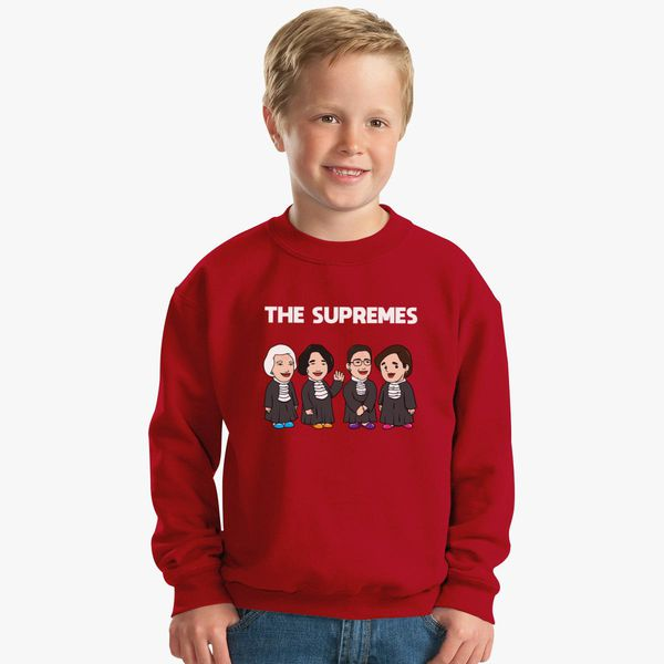 19c3ca74530a The Supremes Womans Political T-shirt Gift Kids Sweatshirt | Kidozi.com