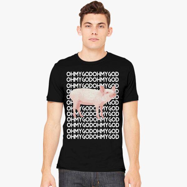 db380cda88 Shane Dawson Oh My God Pig Men's T-shirt | Kidozi.com