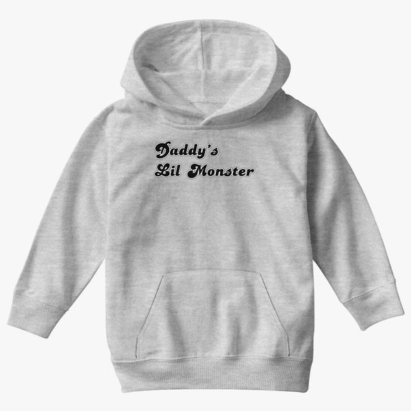 581e694a Daddys Lil Monster Kids Hoodie | Kidozi.com