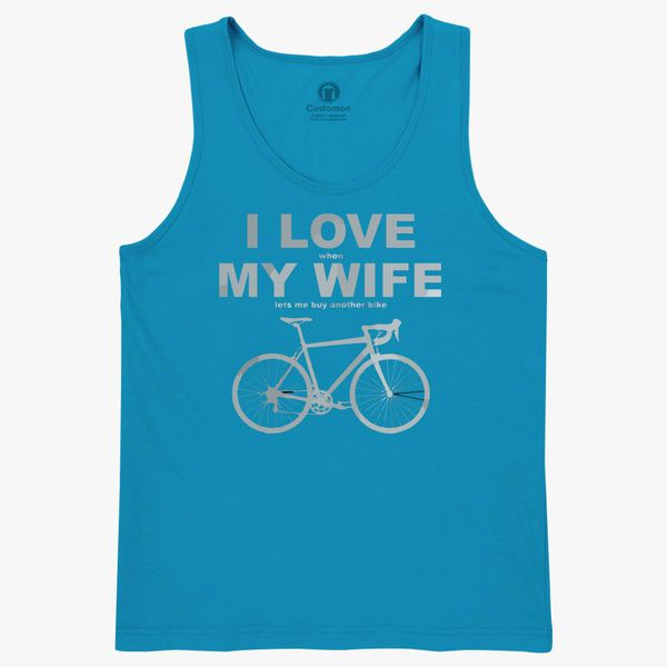 b1ce6bfa48bced I Love When My Wife Lets Me Buy Another Bike Kids Tank Top ...