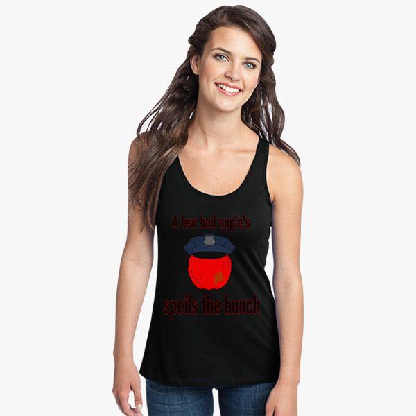Bad Apple Women/'s Racerback Tank Top