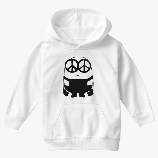 Despicable Me Minion Not Day to Care Mens Graphic Lightweight Hoodie