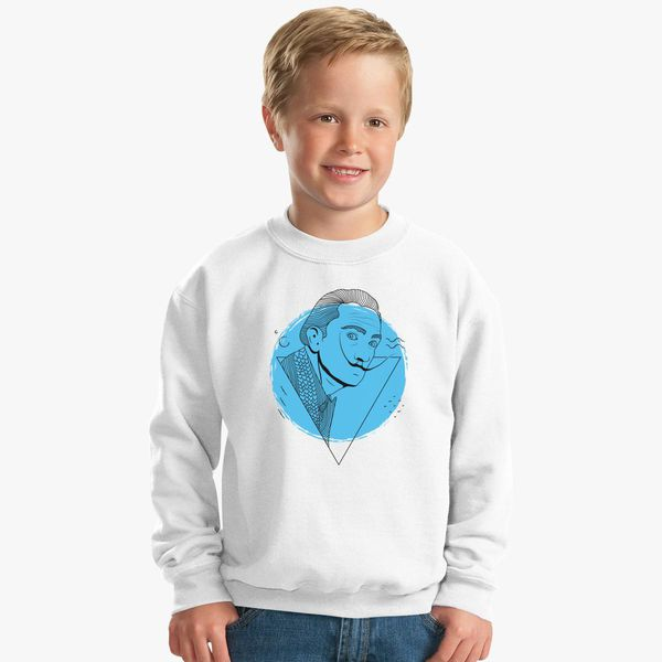 Salvador Dali Kids Sweatshirt | Kidozi com