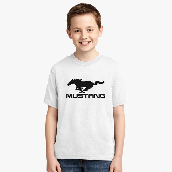 f09adaf82 Ford Mustang Logo Youth T-shirt | Kidozi.com