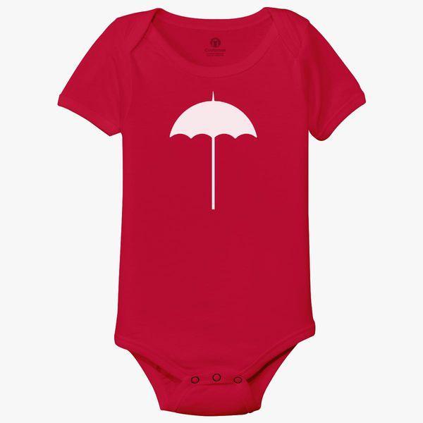 SDHEIJKY Umbrella Academy Baby Short Sleeve Bodysuits Cotton Toddler Onesies