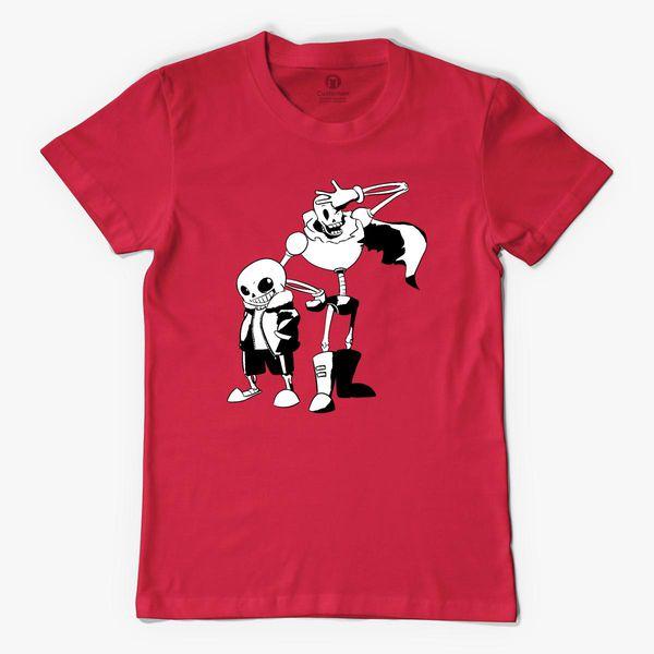 sans and papyrus undertale Men's T-shirt   Kidozi com