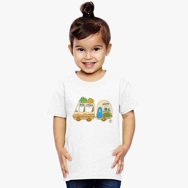 b2ea22bbf Vintage Van and Caravan! Toddler T-shirt | Kidozi.com