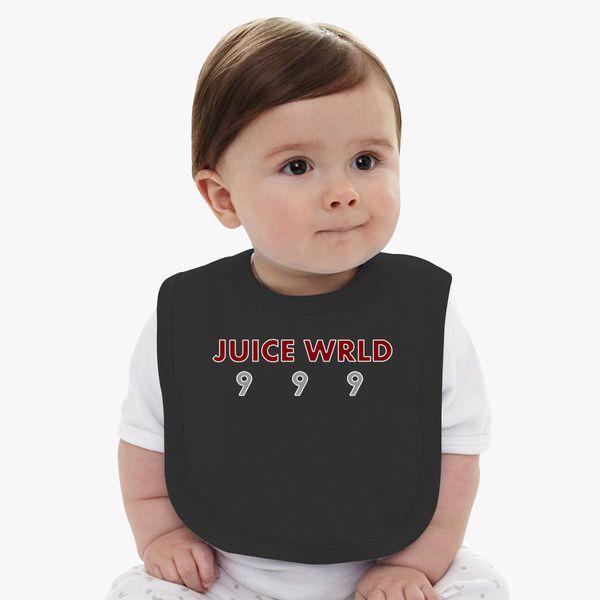 juice wrld 999 Baby Bib | Kidozi.com
