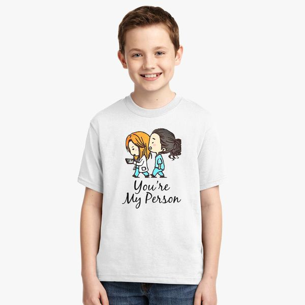 ce1f0783ec4 Grey's Anatomy - You Are My Person Youth T-shirt | Kidozi.com