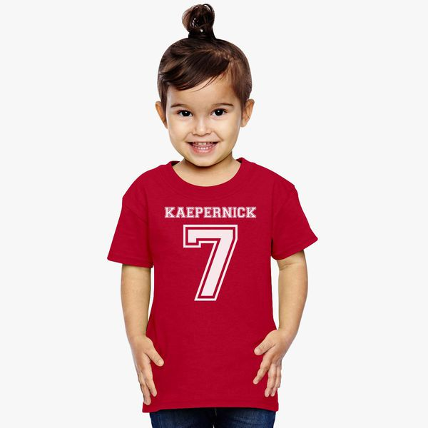 2e5388f9ded Kaepernick Cut Sing National Anthem Toddler T-shirt ...