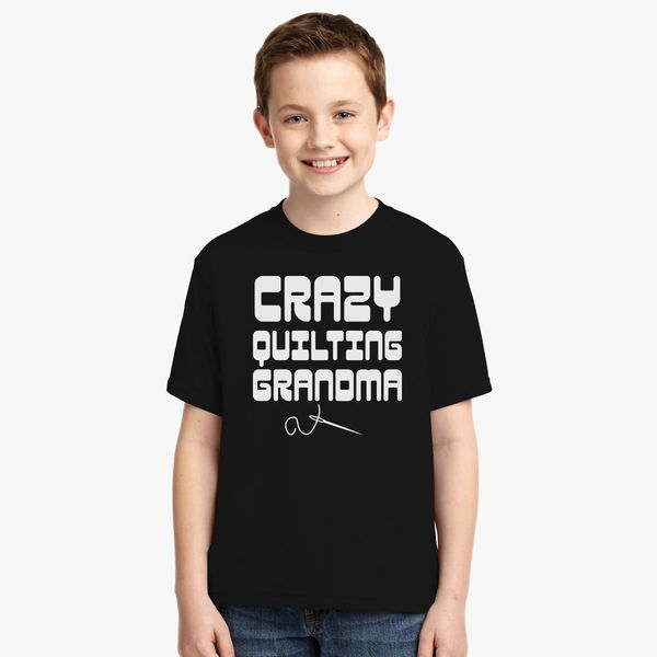 1d446990 Funny Quilting Grandma Youth T-shirt   Kidozi.com