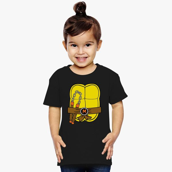 29ab89d1716 Teenage Mutant Ninja Turtles Michelangelo Toddler T-shirt +more