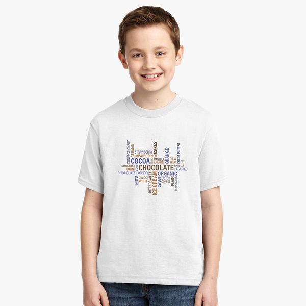 cdcbad06352a2 Chocolate Milk Love quote Youth T-shirt | Kidozi.com