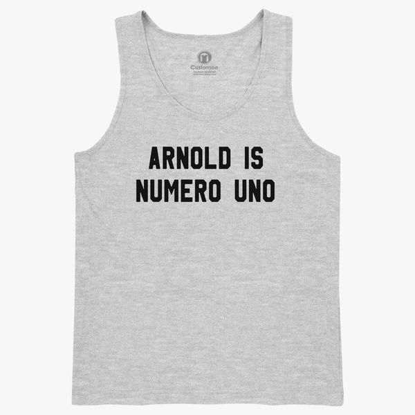 d941e5c4ca5fb2 Arnold is Numero Uno Kids Tank Top ...