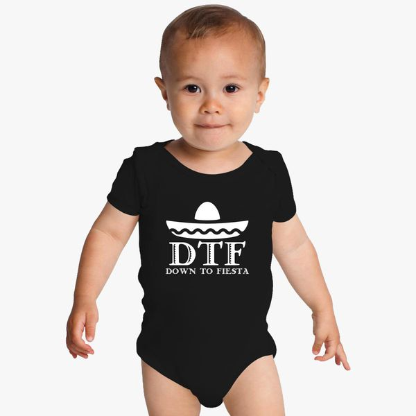 8841f392574a Cinco De Mayo Tee Shirt - Down To Fiesta Baby Onesies | Kidozi.com