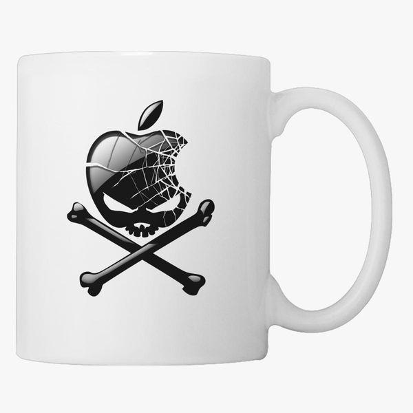 6a58b0b238f Apple Skull Coffee Mug | Kidozi.com