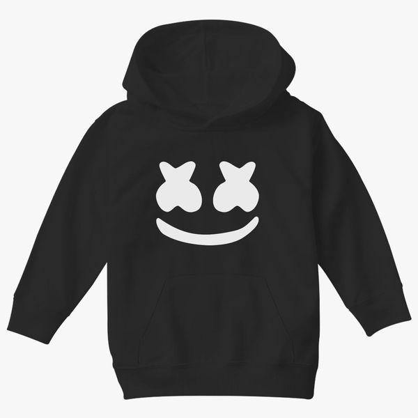 Kids Boys DJ Marshmallow Hooded Hoodie Sweatshirt Pullover Jumper Sweater Shirts