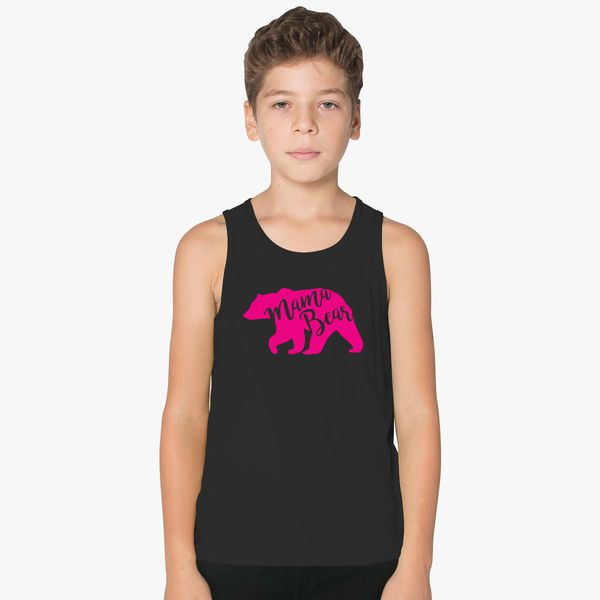 5974fa270d5fb Mama Bear - Mom Gift on Mothers Day Kids Tank Top ...