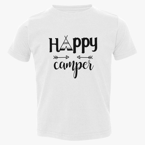 7011dfd5 Happy Camper Toddler T-shirt | Kidozi.com