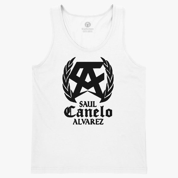 Saul Canelo Alvarez Black Kids Tank Top Kidozi