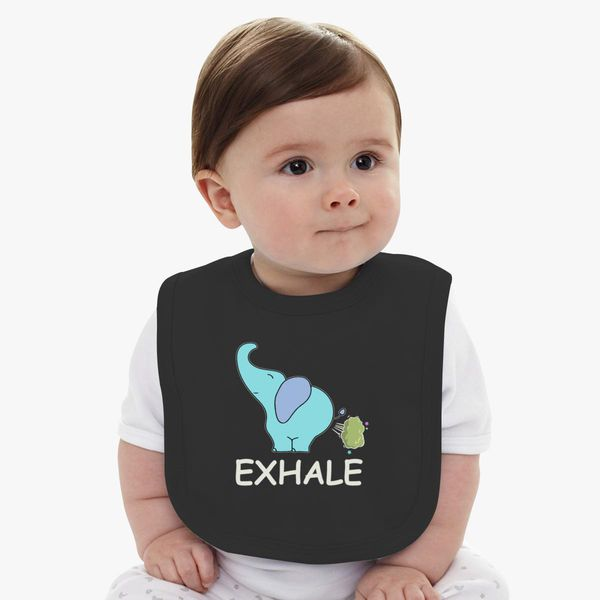 Funny Exhale Elephant In Yoga Baby